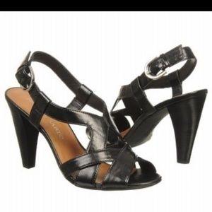 Franco Sarto black Amanda heels size 7 1/2
